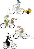 Bicyclettes 2 Image libre de droits