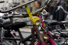 Bicyclettes Photo stock