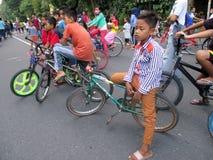 Bicyclettes Images libres de droits