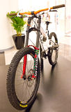 Bicyclettes du GT sur l'affichage. Image libre de droits