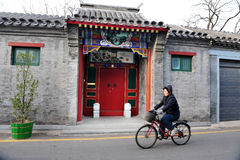 Bicyclettes en Chine Images stock