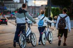 Bicyclettes libres Image libre de droits