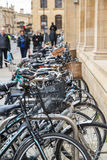 Bicyclettes à Oxford Images libres de droits