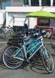 Bicyclettes pour le loyer à San Francisco Photographie stock libre de droits