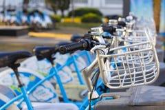 Bicyclettes pour le loyer Photographie stock libre de droits