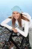 bicycling осени Стоковое Изображение RF