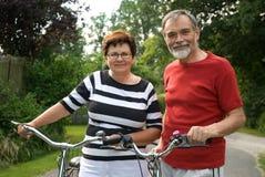 bicycling Fotografia Royalty Free