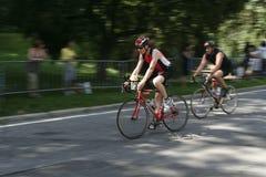 Bicycling Fotografia de Stock Royalty Free