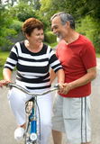 Bicycling Stock Photography