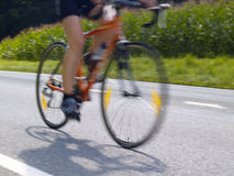 Bicycling Royalty Free Stock Images