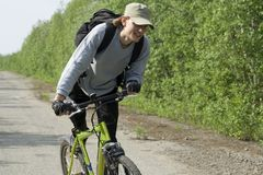 Bicycling Stock Images