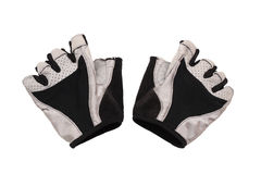 Bicycling gloves Stock Photography