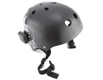 Bicycling helmet Royalty Free Stock Image