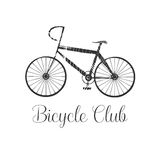 Bicycling vector design element, logo Stock Image