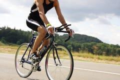 Bicyclist Immagine Stock Libera da Diritti