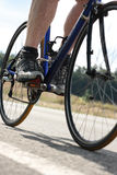 Bicyclist Royalty Free Stock Photography