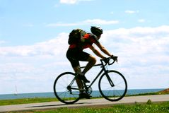 Bicyclist Royalty Free Stock Photos