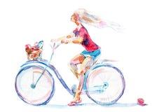 Bicyclist Stock Image