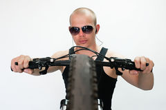 Bicyclist Royalty Free Stock Image