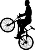 bicyclist Fotografia Stock