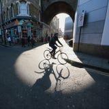bicyclist Imagem de Stock