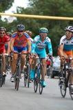 Bicyclist Alexandr Vinokurov Stock Images