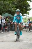 Bicyclist Alexandr Vinokurov Stock Photo