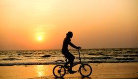 Bicyclist stock photos