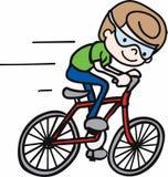 Bicyclist Boy Royalty Free Stock Photos