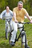 bicyclist dojrzały Zdjęcia Royalty Free