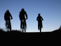 bicyclists Στοκ φωτογραφίες με δικαίωμα ελεύθερης χρήσης