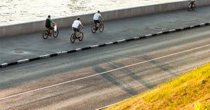 bicyclists Imagen de archivo