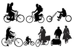 Bicyclists Stock Photos
