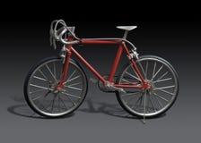 bicykl obramiająca wzorcowa czerwień Zdjęcie Stock