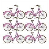 bicykl rysująca ręka Zdjęcia Royalty Free