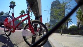 Bicykl usługa W kawałka nadmorski miasta kole zbiory
