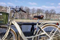 Bicykl w Holandia obraz royalty free