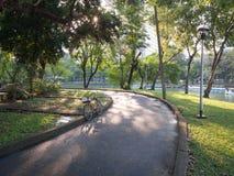 Bicykl w parku Fotografia Royalty Free