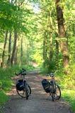 Bicykle旅行 免版税库存照片