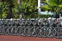 bicykle do wynajęcia Zdjęcia Stock
