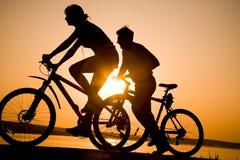 bicykle dobierają się sporty Obraz Royalty Free