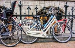 Bicykle obfitują w Amsterdam Fotografia Royalty Free