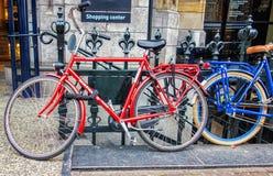 Bicykle obfitują w Amsterdam Zdjęcie Royalty Free