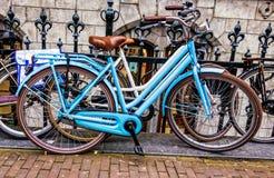 Bicykle obfitują w Amsterdam Obraz Royalty Free