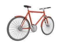 Bicykle rosso Fotografie Stock