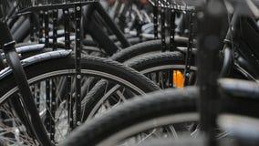 Bicykle zamykają up zdjęcie stock