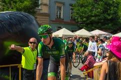 Bicykles-Polen-Rundfahrt Lizenzfreie Stockfotos