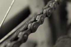 Bicyklu łańcuch Fotografia Royalty Free