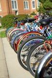 bicyklu kampus Zdjęcia Stock