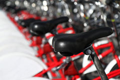 bicyklu miasto Zdjęcie Stock